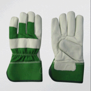 Cow Grain Full Palm Winter Glove (3108) pictures & photos