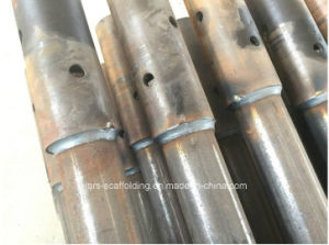 Yellow Painted Ringlock Scaffolding Standard for Construction Materials pictures & photos