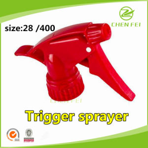 Red 28 400 Finger Press Plastic Trigger Sprayer Head