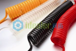 """Pneumatic Air Tube Seven Core Electrical Coil Hose (PU1/4"""") pictures & photos"""