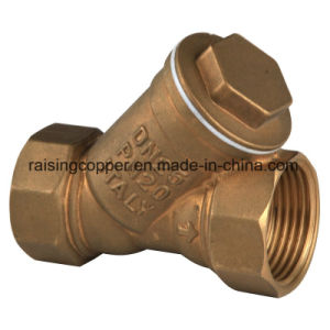 Brass Y Strainer with Stainless Mesh pictures & photos
