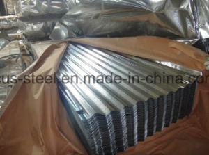 Low Cost Corrugated Coated Metal Roofing Sheet for Steel Structure pictures & photos