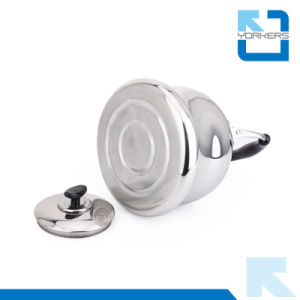 4L/5L/6L Stainless Steel Non-Electric Flat Bottom Water Tea Kettle pictures & photos