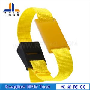 Universal Braided RFID Smart Wristband for Express Delivery pictures & photos