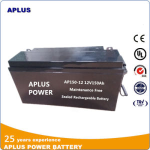 Best Selected Solar Battery 12V 150ah for Bank Power Supply pictures & photos