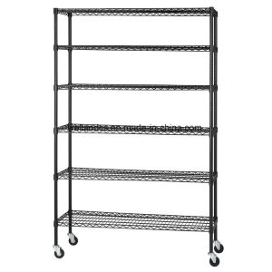 500lbs Heavy Duty Adjustable Metal Wire Shelf Factory pictures & photos