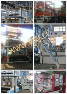 3layer Common Extruding Rotary Die Head Film Blowing Machine (ABC) pictures & photos