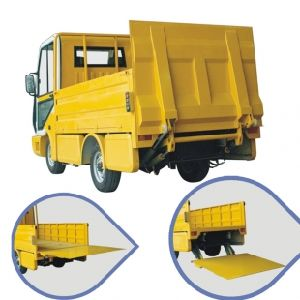 Electric Refuse Truck with Garbage Bin Collection pictures & photos