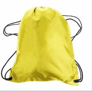 Personalized Promotion 210d Nylon Gym Drawstring Backpacks Drawstring Bag pictures & photos