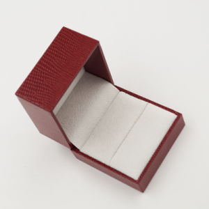 New Design High Quality Customized Plastic Jewel Ring Box (J37-A1) pictures & photos
