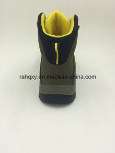 Nubuck Leather Casual Style Outdoor Shoes with Toe Protection Safety Shoes (16054) pictures & photos