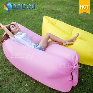 Portable Air Nylon Hammock Sleeping Bag Chair Inflatable Camping Hammock