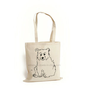 The Natural Canvas Bag Shopping Bag Promotion Bag (CS-016) pictures & photos