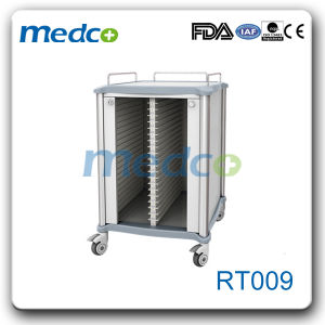 Steel Medical Patient Double Record Document Holder Cart Trolley pictures & photos