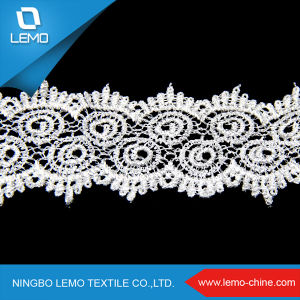 Lemo African Lace Fabrics, Lace Trim Lace Dress Fabric for Garments pictures & photos