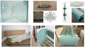 Tempered Wall Shelf Glass with ANSI Ce Certificate pictures & photos