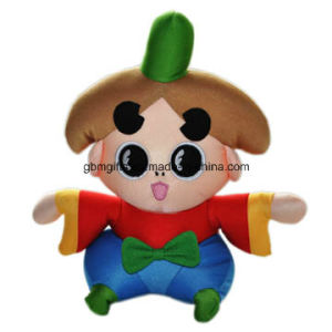 Hot Sale Soft Cute Cartoon Image Big Embroidery Eyes Sex Girl Plush Doll Toy pictures & photos