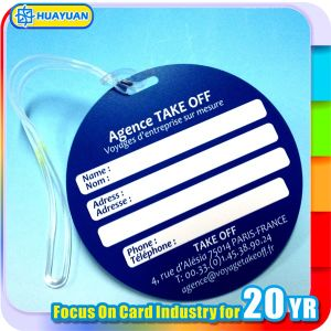 Custom Promotional PVC ID Luggage Tag for Travel pictures & photos