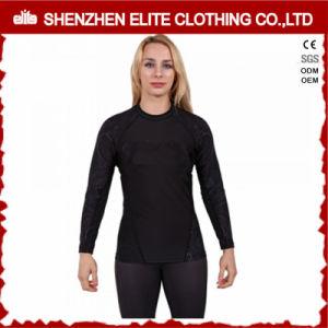 Sublimation Printing Long Sleeve Rash Guard Shirt for Women (ELTRGJ-264) pictures & photos