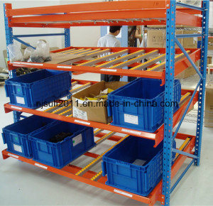 Sliding Rack Carton Flow Racking with roller Track pictures & photos