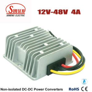 12V to 48V 4A 200W Step up DC-DC Power Converter pictures & photos