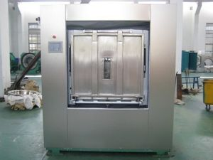 30-100kg Professional Industrial Hospital Washing Machine with Sanitary Barrier pictures & photos