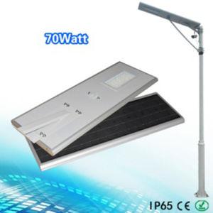 Bluetooth APP Control 70W Solar Street Light /Solar Garden Light