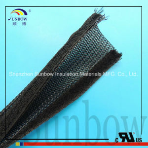 Cable Sleeve Flexible Braided Sleeving Split pictures & photos