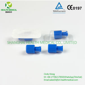 Blue Combi Stopper/Luer Lock, Customized Packaging with Logo Printed pictures & photos