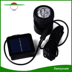 6 LED Solar Pond Lights Waterproof Spotlight Solar Powered Landscape Lights Fish Tank Underwater Light pictures & photos