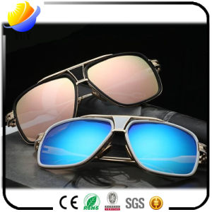 New Male and Female Personalized Folding Glasses High Definition Glass Lens Sunglasses pictures & photos