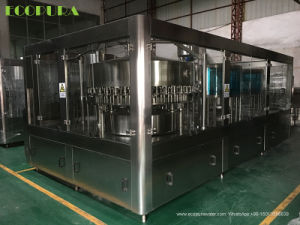 Aerated Juice Beverage Filling Machine / Pulp Juice Bottling Machine pictures & photos