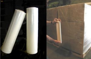 Hand Stretch Film Manufacturer LLDPE Stretch Film pictures & photos