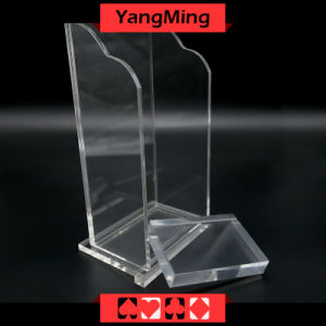 Plastic 8 Decks Playing Card Discard Holder / Box Casino Poker Table Games  Dedicated Accessories Ym PS01