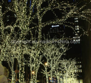 Warm White Fairy Lights for Famous Christmas Markets Decorations at City Hall pictures & photos