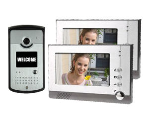 7 Inch TFT LCD Monitor Video Door Phone Intercom System with Night Vision Outdoor Camera pictures & photos