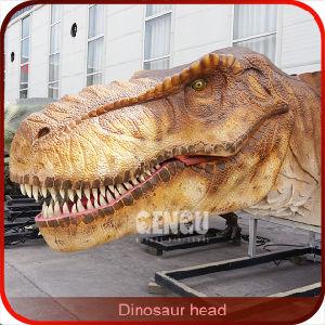 Dinosaur Exhibit - Huge Dinosaur Head pictures & photos