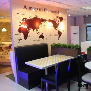 Artificial Solid Surface Garden Furniture Dining Tables (170625) pictures & photos
