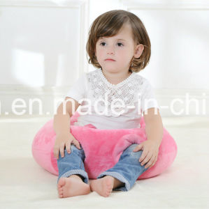 Soft Plush Pink Baby Pillow with PP Cotton pictures & photos