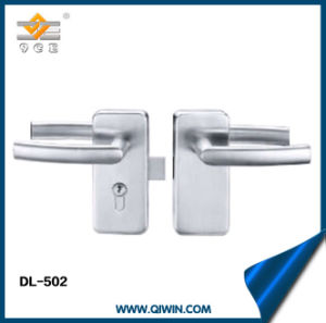 Stainless Steel Quare Door Lock with Handle pictures & photos