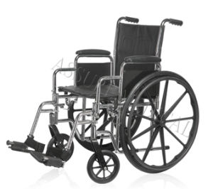 Steel Manual, Fixed Armrest, Wheelchair, Economy, (YJ-K2F01-2) pictures & photos