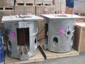 Good Performance Induction Furnace with Medium Frequency Melting Treatment pictures & photos