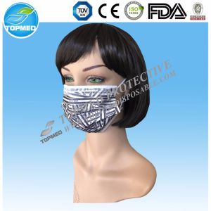 Disposable Nonwoven Soft Facial Mask in Different Color pictures & photos