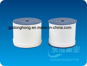 100% Virgin White Expand PTFE Elastic Belt Tape Ribbon pictures & photos