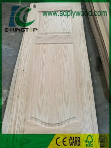 3mm HDF Door Skin Laminated with Red Oak pictures & photos