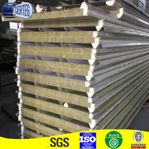 High Quality New PU-Rockwool Sandwich Panel Price pictures & photos