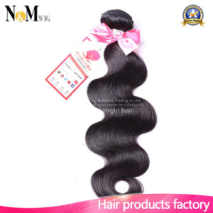 Mink Hair Stock Double Drawn Remi Hair Weft (QB-MVRH-BW) pictures & photos