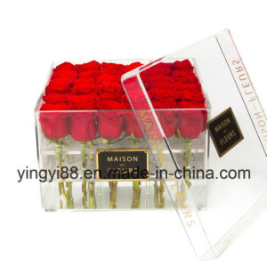 100% Acrylic Flower Box /Plastic Rose Box Shenzhen Factory pictures & photos