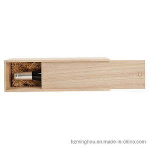Wood Single Bottle Wine Gift Box for Wine, Spirit, Whisky pictures & photos