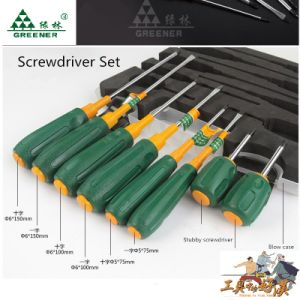 Non-Slip Handle Screwdriver with Magnetic Head pictures & photos
